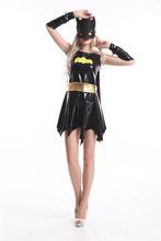 caliente 2014 pirata adulto batgirl dama vestido de fantasía sexy traje de las señoras sexy traje de movis