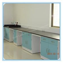 Flexible laboratory epoxy resin top lab work bench with sink (HL-QGL-032)