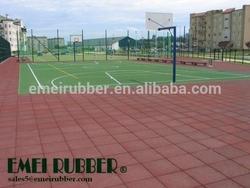 Basketball Court rubber Flooring