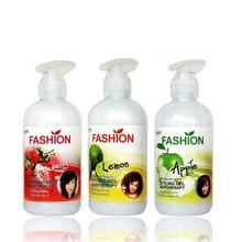 Amazing polishing apple fragrance&strawberry fragrance&lemon fragrance wax treating hair elastin