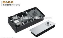 Eniking EK-2.8 glass door floor springs, spring loaded door closers, floor springs