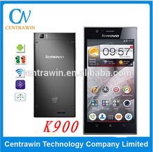 Orignal 2GB RAM Intel Atom Z2580 Dual Core 2.0GHZ cell phone 1920 x1080 FHD 5.0 inch Screen Android 4.2 Smartphone Lenovo K900