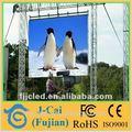 çin aliexpress yüksek çözünürlüklü rgb video reklam p10 led paneli