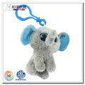 cute elephentd soft mini brinquedo animal de pelúcia chaveiros
