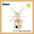 solaire diy jouets moulin à vent en bois