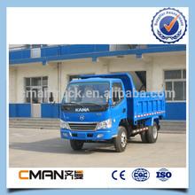 China KAMA brand 4x4 all wheel drive mini dump truck 5ton capacity