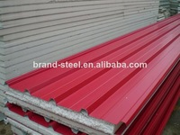 hot sale fire rated and water resistant EPS sandwich panel for wall and roof