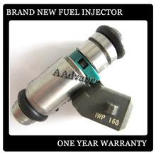 Fiat palio del inyector de combustible iwp168 magneti marelli 501.031.02, inyector de combustible gasolina 100% nuevo de la marca