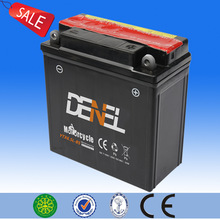 2014 newest product with high performance and good quality 12v 6ah capacity and price with scooter parts of 12v dry battery