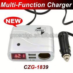 single USB port 20 percent discounts Zhongshan factory Customerized logo 9v 2a car charger