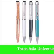 Hot Selling custom logo crystal ball pen bic