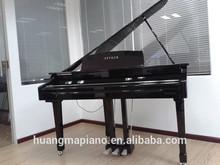 Digital Piano Factory 88 keys Touch Hammer Keyboard MIDI Black Polish Digital Grand Piano HUANGMA HD-W086 grand piano f