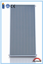 New design compact Flat plate solar water heater collector export to germany