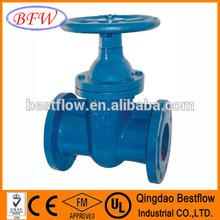 ductile iron DIN3352 gate valve-F4 type