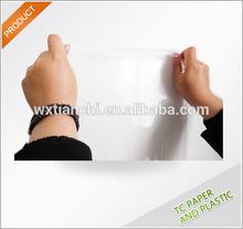good transparent pvc clear plastic rolls food grade packaging film