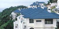 metal roof tile sand coated metal roofing tile (factory)