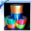 KOLYSEN Custom design plastic metallized pet twist film for candy