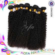 Best Selling Full Cuticle 100% Virgin curly brazilian braiding hair