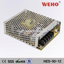 Metal case led ac power 12v regulated dc power supply