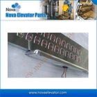 Hairline S.S Faceplate Surface Type/ Wall-hanging LOP for Luxury Passenger Elevator, Home Lift