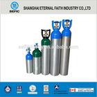 DOT TPED Material Aluminium brushed aluminum bottle sale 1L-50L Medical Oxygen Aluminum Cylinder