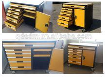 OEM factory Canada heavy duty garage workshop drawer wood top tool trolley
