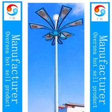 Beautiful shape 15--35M high mast lighting pole