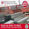 100x100x5 SQUARE TUBULAR STEEL SIZES GI PIPE PRICE LIST