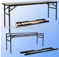 Plywood folding table for wedding/Banquet/Rental