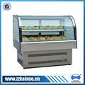 mesa pequena padaria vitrine refrigerada