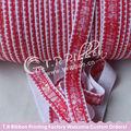5/8 16mm cordón elástico personalizadaimpresa de la cinta para el bebé y bandas para la cabeza