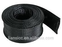 Durable braided expandable nylon sleeve