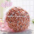 2014 novos produtos quentes flores artificiais em vasos decorativos