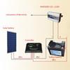 Bluesun convenient 300w 12v mobile home solar panel system