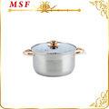 México popular olla mini cazuela de cerámica aislado de alimentos más caliente cazuela desechables cazuela dishes msf-3179-20cm