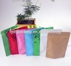 Food grade stand up plastic polythene bag for popcorn