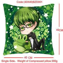 Customize Single-side peach skin fabric 40x40 dimension embracing pillow