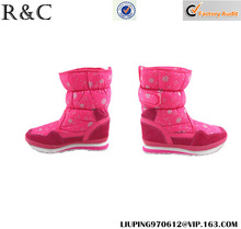 2014 cow leather beautiful winter boots for girls S027