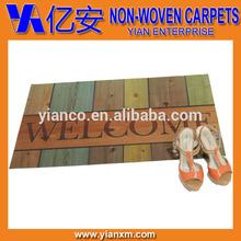 2014 summer design non woven needle punch bedroom matting