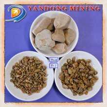 china unpolished yellow river pebble stones