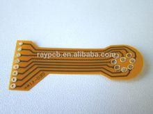 Immersion Gold , OSP Flexible PCB PI Stiffener Film Board 1mil Min. Line