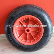 pneumatic rubber trolley wheel tire