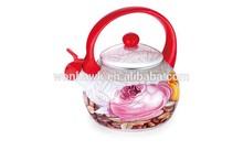2.2L Enamel Whistling tea kettle