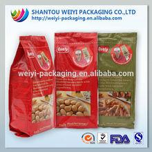 food vaccum seal bags/frozen dumplings packing bags/packaging dumplings