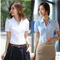 venta al por mayor 2014 nueva formal las mujeres blusa camisa modelo