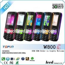 2014 Unlocked Dual SIM low price Chino telefonos moviles W800