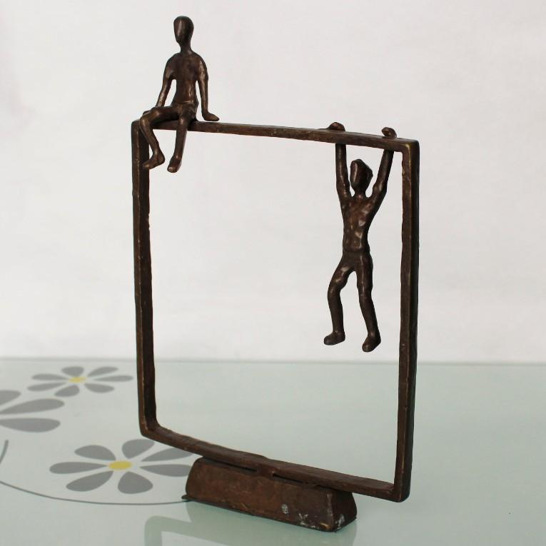 Gietijzer metalen kunst en kunstnijverheid bronzen beelden voor huisdecoratie metaal ambachten - Afbeelding van huisdecoratie ...