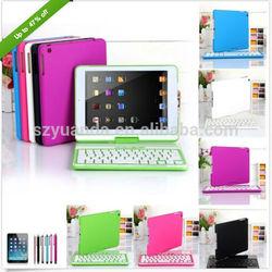 For iPad mini / Retina iPad mini Cover Case with Swivel Rotary Stand + Bluetooth Wireless Keyboard