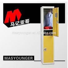 Most popular 2 tiers steel storage locker, ikea locker, gym locker