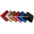 Pocket Business ID Credit Cards Wallet Holder Case Box Aluminum Metal Waterproof
